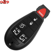 HKOBDII 5+1 Buttons 46 Electronic Chip with uncut blade For Jeep Fobik Smart Remote Car key 433Mhz For Chrysler