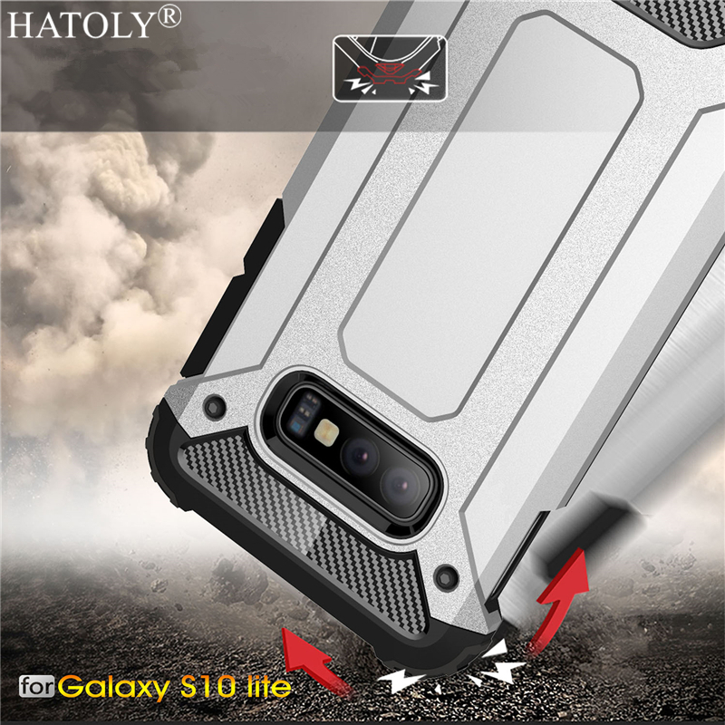 For Samsung Galaxy S10e Case Silicone Armor Shell Hard PC Back Phone Case For Samsung Galaxy S10e Cover For Samsung Galaxy S10e