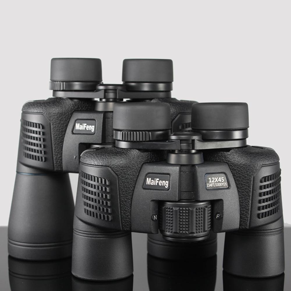 MaiFeng 12X45 16X50 High Power field glasses Binoculars Telescope Nitrogen Filled Waterproof Environmental Vision Scope