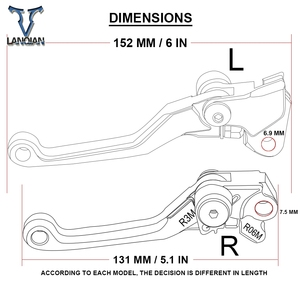 Image 5 - Dirt Bike Pivo Brake Clutch Levers Motorcycle Handle Lever Parts For YAMAHA TTR600 TTR 600 1998 1999 2000 2001 2002 2003   2013