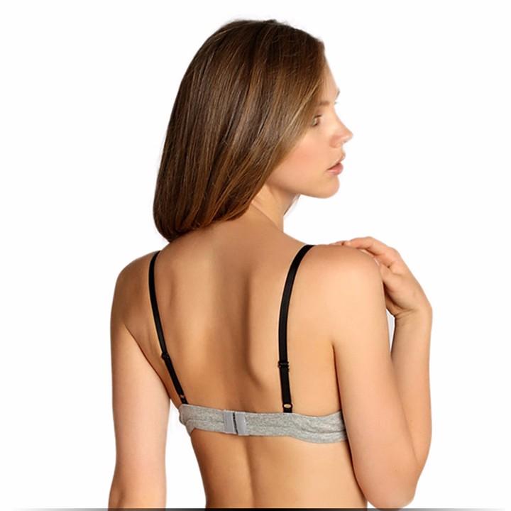 Kolmnurkse lõike ja pitsiga rinnahoidjad