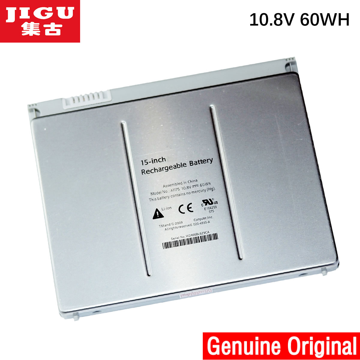 все цены на JIGU A1175 MA348 Original Laptop Battery For APPLE MacBook Pro 15