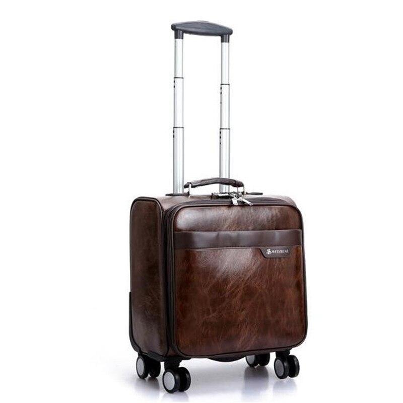 Popular Mini Leather Luggage-Buy Cheap Mini Leather Luggage lots ...