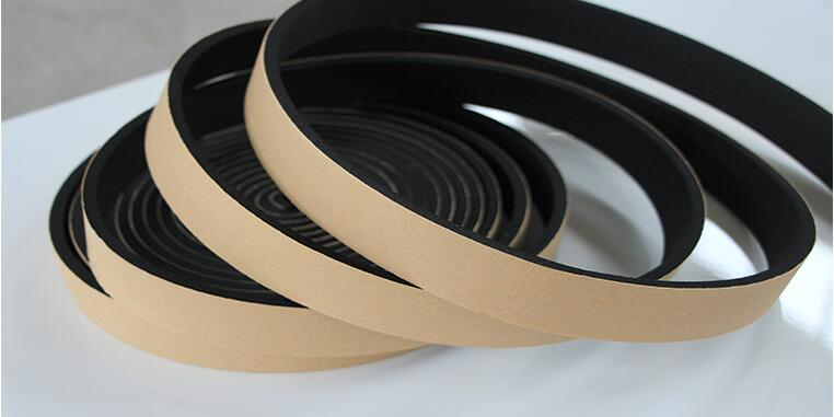 Excellent Cabinet Sealing Tape Black EPDM Adhesive Sealing Tape Foam EPDM Tape 10mmTX20mmW,10Meters