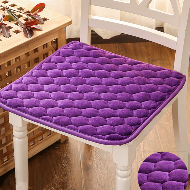 dining room chair pads and cushions high definition pics | 50*50cm Plush Chair Cushion Non slip High quality Seat ...