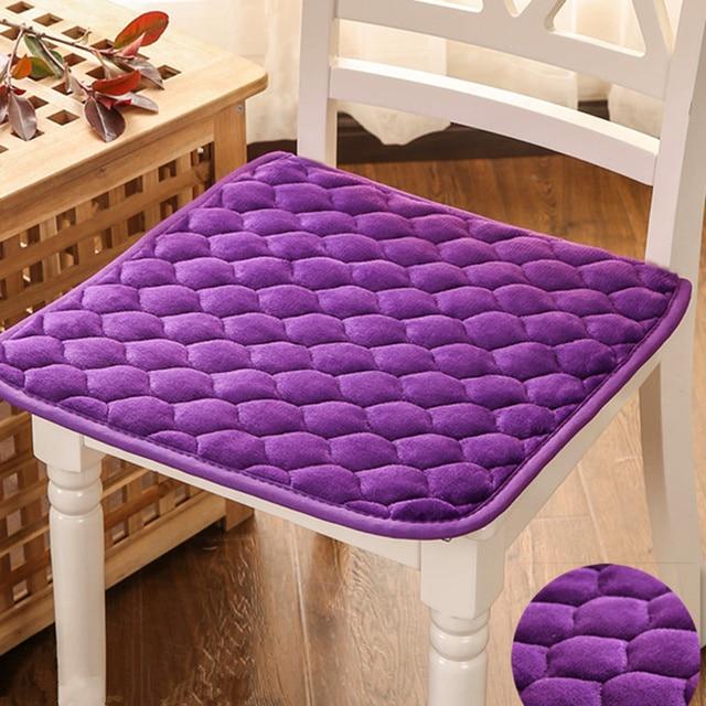 50*50cm Plush Chair Cushion Non Slip High Quality Seat Cushion,Decorative