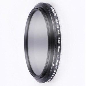 Image 3 - 52mm ND2 400 צפיפות ניטרלי מדעך משתנה ND מסנן מתכוונן עבור Fujifilm X T100 X A20 X A5 XA20 XA5 XT100 עם 15  45mm עדשה