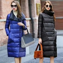 2017 Winter New Duck Down Jacket Women Long Coat Parkas Thickening Warm Clothes High Quality Down Coat Women Parkas high quality fashion new russian 2016 winter coat women large turn down collar thick warm long duck down parkas black rad jacket