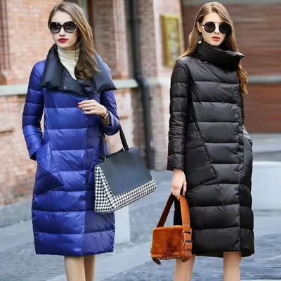 2019 Winter New Design Duck   Down   Jacket For Women Double Wearings Long   Coat   Parkas High Quality Women   Down     Coat   two Sides Parkas