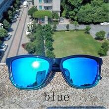 Reggaeon calidad gradiente marco gafas De Sol hombres polarizados conducción deportes mujeres gafas De Sol Oculos De Sol verde rojo azul Color lente gg
