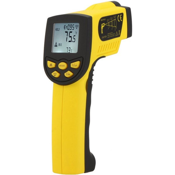 ZEAST HP-1300 -50-1300 Degree Industrial Digital IR Infrared Laser Thermometer Temperature Gun Non Contact Sensor Thermometer az8803 digital thermocouple thermometer with temperature range 50 1300 degree