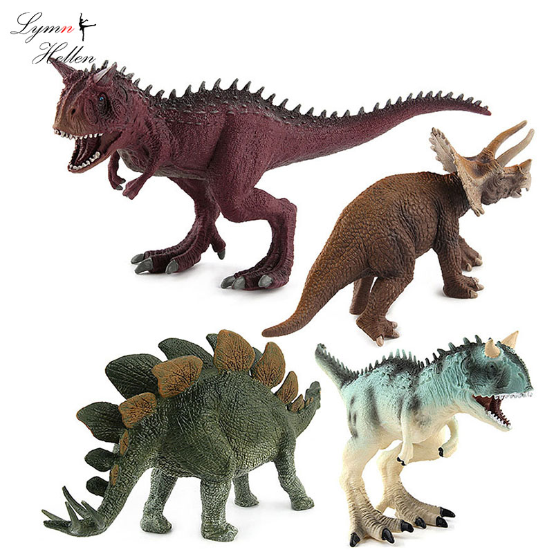 Dinosaur Toy Play Set Jumbo Animal Kids Toddler Pretend Figures 5 Piece New Animals & Dinosaurs Action Figures