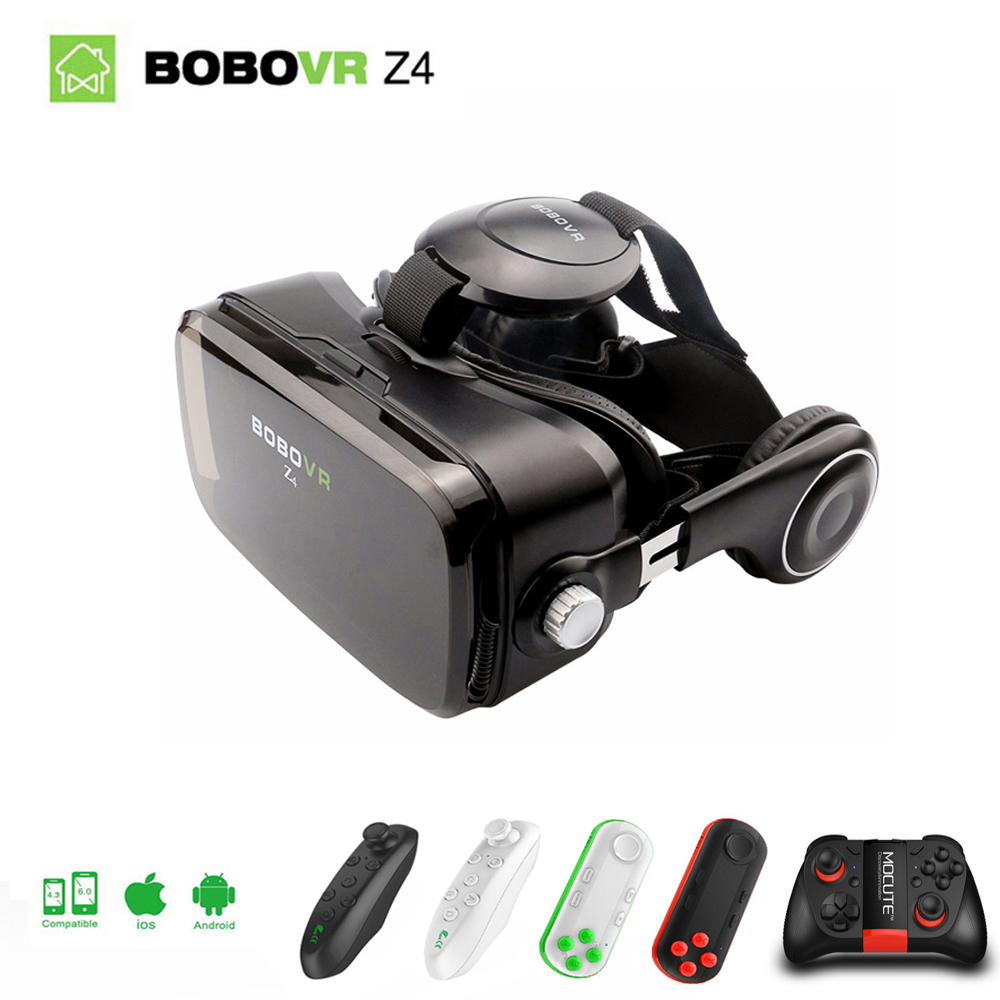 Original Xiaozhai BOBOVR Z4 Virtual Reality 3D VR Glasses BOX Theater Private to 4.7-6.2 inch smartphone + bluetooth headset 2.0 xiaozhai z3 bobovr vr box 3d vr virtual reality headset