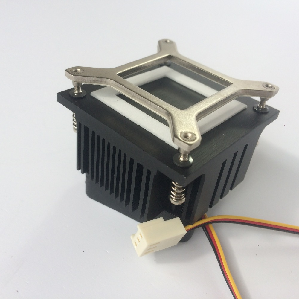 Купить с кэшбэком 50mmx50mmx35mm Cooling Fan Heatsink DIY Northbridge Cooler South North Bridge Radiator for PC Computer
