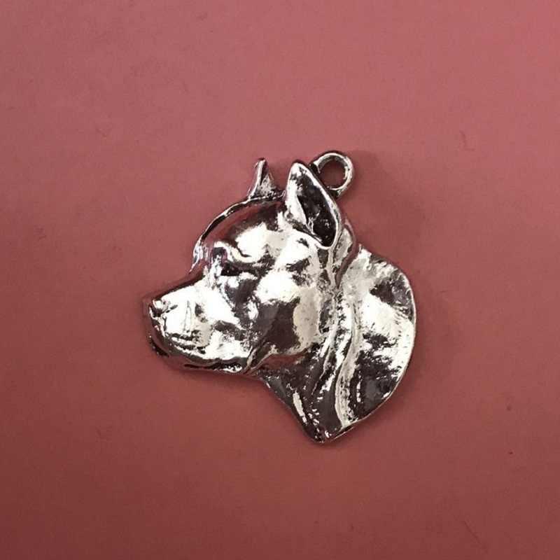 Mỹ Staffordshire Terrier nổi Móc Chìa Khóa Phổ Biến Pit Bull Terrier chó nổi Móc Chìa Khóa giao hàng nhanh