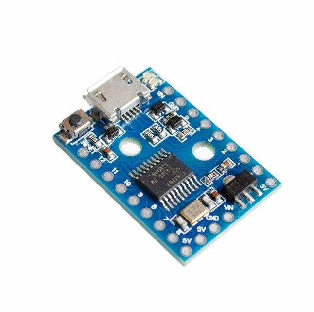 La carte de développement Digispark Pro kickstarter utilise un module Micro ATTINY167 pour usb