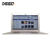 2017 NEW 14 inch   laptop   Free Shipping, Intel Bay Trail ultrabook 2GB RAM+32G EMMC with Windows 10, 6000 mah battery, Notebook PC