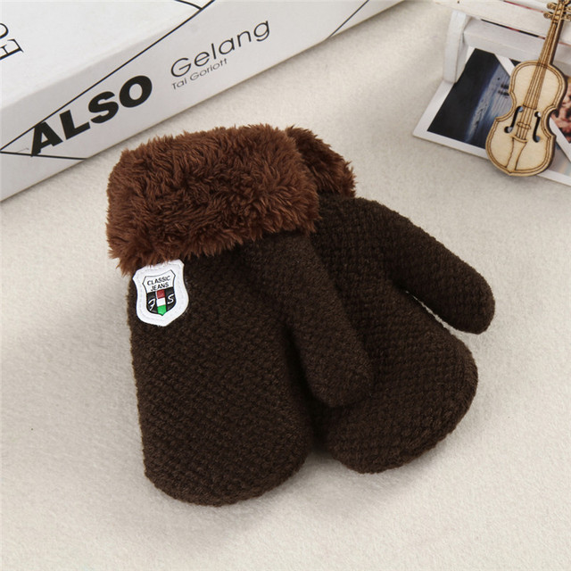 Super Warm Full Finger Mittens for Infants and Toddlers | Autumn 2017 Collection