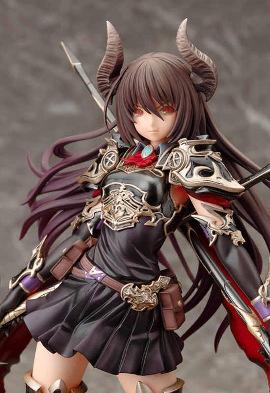 Anime jogo raiva de bahamut dragão escuro cavaleiro deardragoon forte o dedicado kotobukiya 28 cm figura de ação