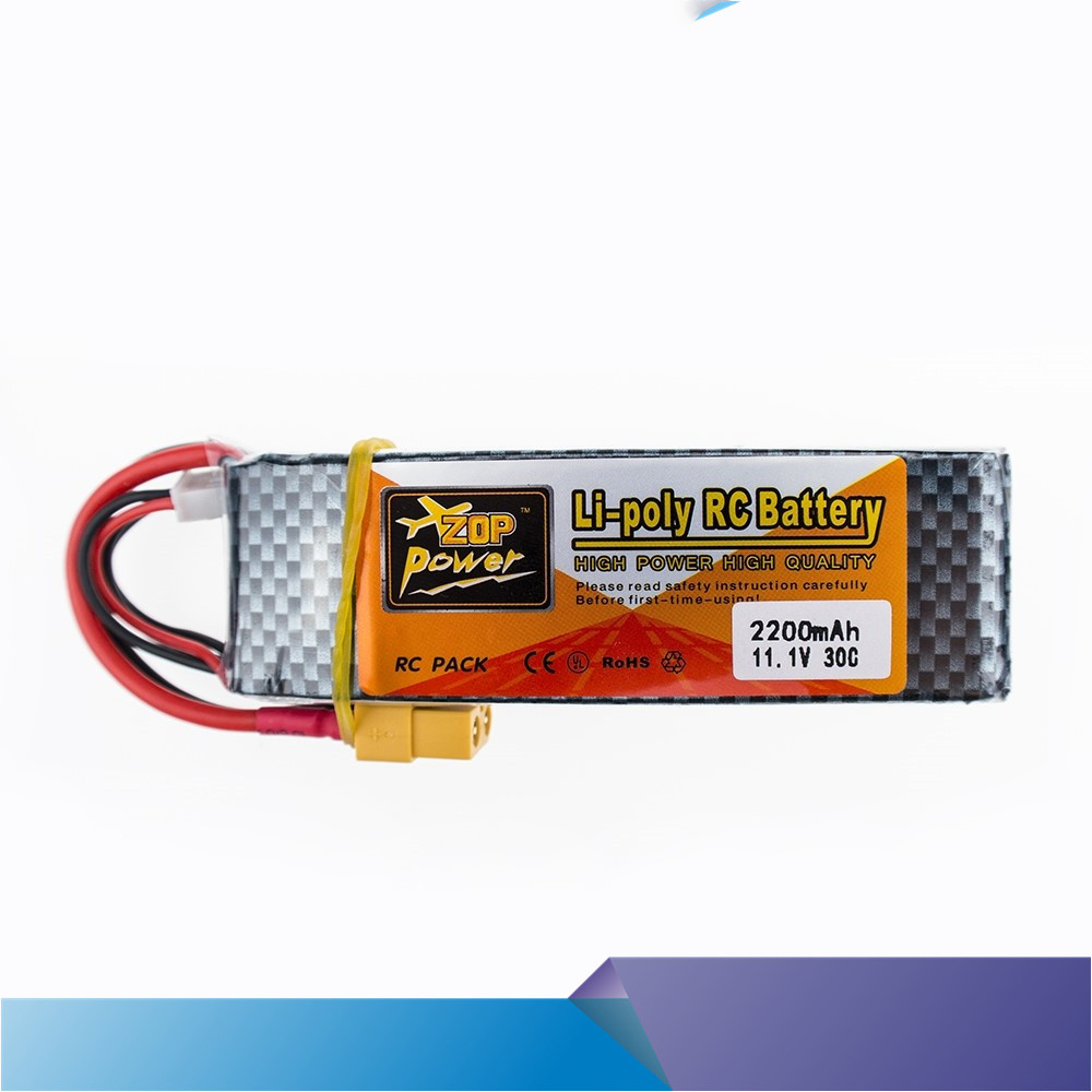 hot ZOP Lipo Battery 11.1V 2200Mah 3S 30C Max 35c XT60 / T Plug For RC Helicopter Qudcopter Drone Truck Car Boat Bateria Lipo lynyoung battery lipo 4s 3000mah 14 8v 35c for rc bike drone boat plane car truck helicopter