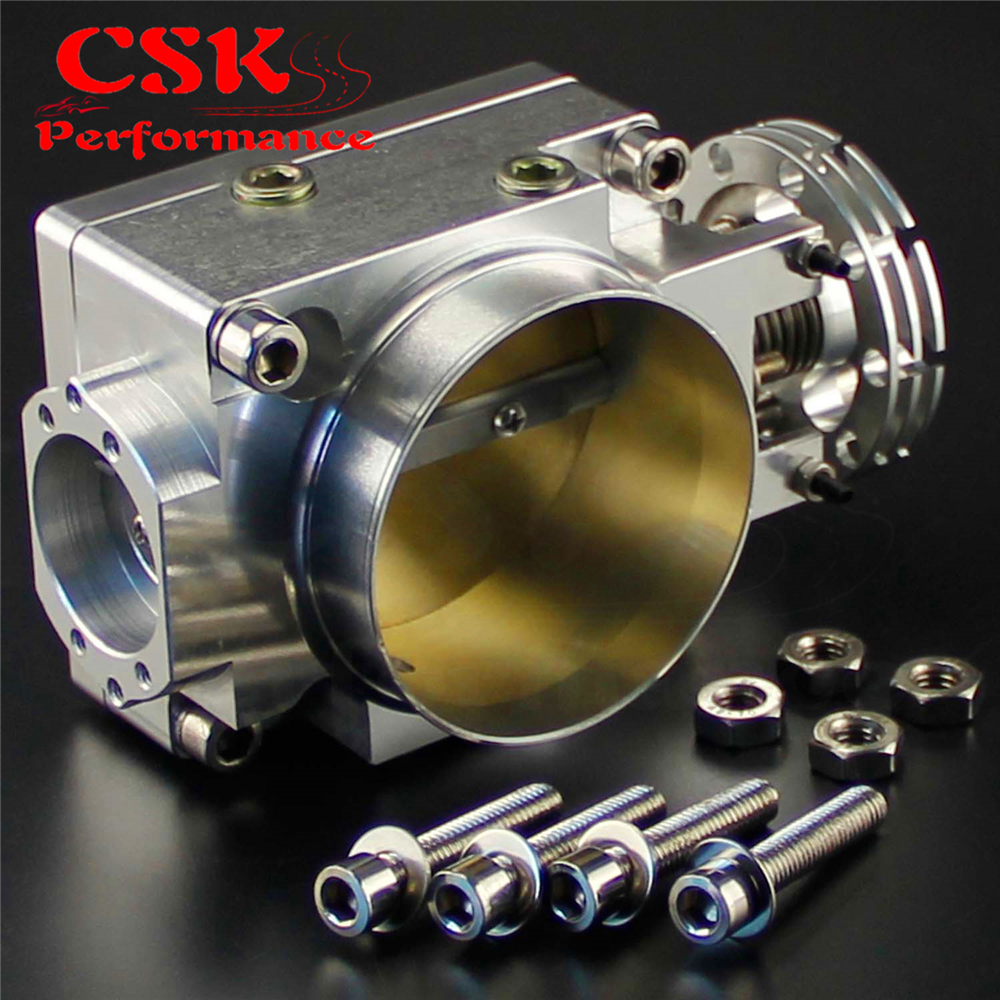 200SX 240SX Silver Throttle Body 70MM For Nissan Silvia SR20 S13 S14 S15 SR20DET