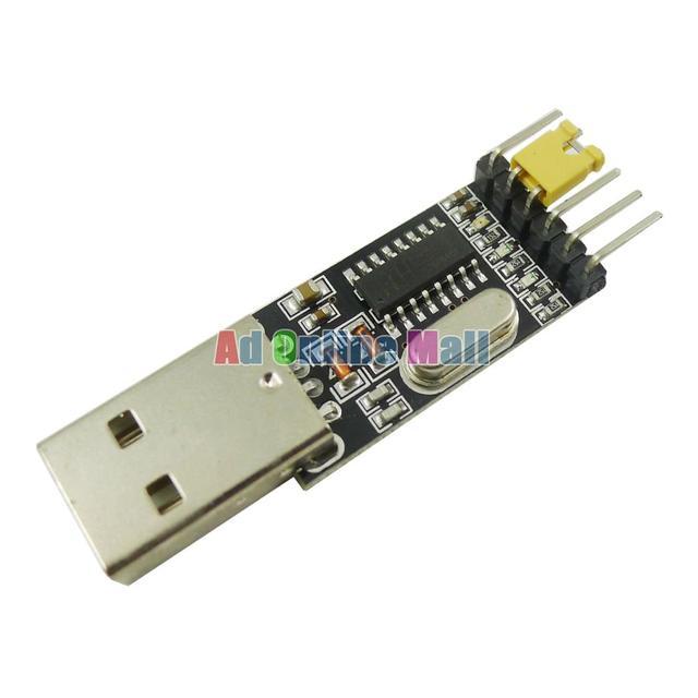1 ШТ. USB для TTL UART Модуль CH340G CH340 3.3 В 5 В Последовательный Преобразователь Переключатель вместо CP2102 PL2303