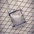 Moda bolso de las mujeres transparentes de la jalea bolsa de la cadena de un hombro bolsas cruz-cuerpo pequeño foto bolsa de playa