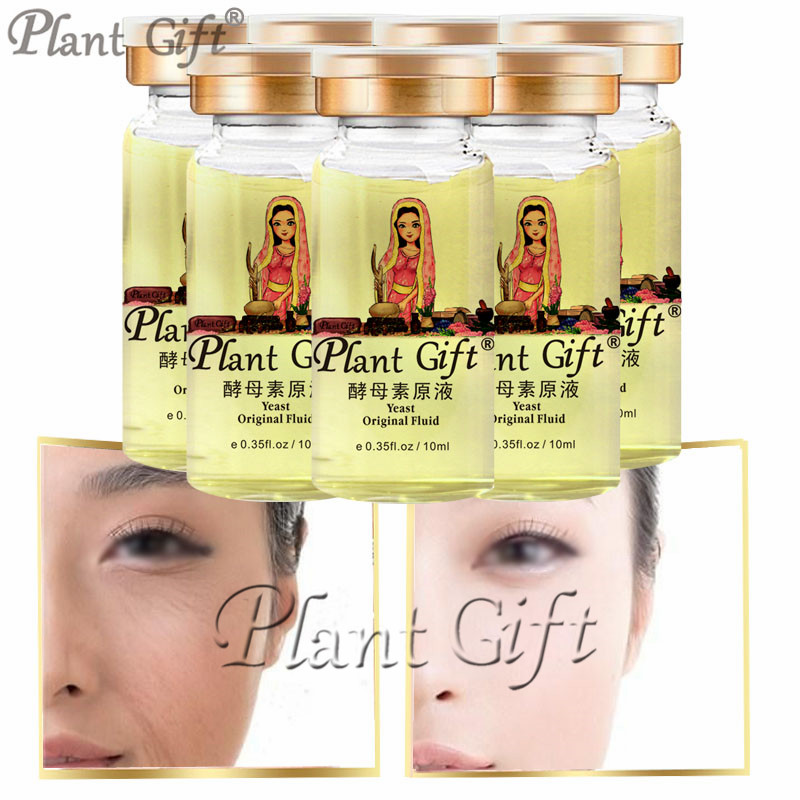 Plant Gift Hot Sale Yeast Original Fluid V Serum Treatment 10ml*7pcs ткань 7pcs 50 50 telas diy tecido mmj1216003