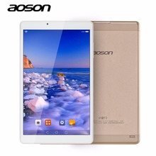 Ultra delgada de 10.1 pulgadas andriod 6.0 tablet pc aoson r103 de oro IPS 800*1280 32 GB/2 GB de Doble Cámara de 5MP WIFI Bluetooth FM GPS 6000 mAh