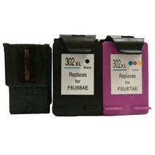 vilaxh 302xl Compatible Ink Cartridge Replacement for HP 302 xl For Deskjet 2130 1110 1111 1112 Officejet 4650 ENVY 4520 Printer цены онлайн