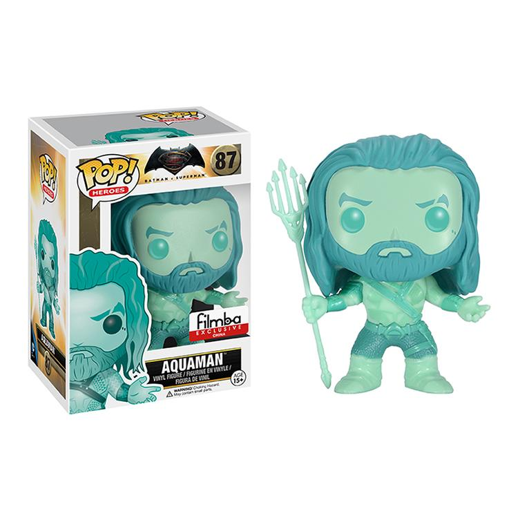 Exclusive Funko <font><b>POP</b></font> Official <font><b>Batman</b></font> VS <font><b>Superman</b></font> Dawn of Justice - Aquaman <font><b>Vinyl</b></font> <font><b>Figure</b></font> Collectible Model Toy with Original Box