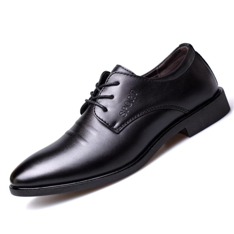 Mode 38 En Chaussures Designer 8762 Richelieus 44 De Noir Marque Cuir Hommes gqWr8gU