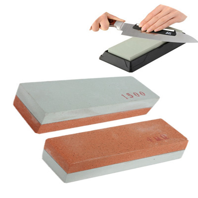 400# 1500# double side knife amolar sharpening pedra tool stone honing Grindstone Whetstone sharpener polish kitchen(China)