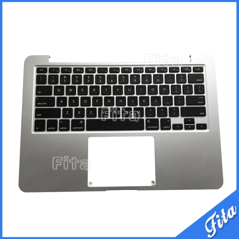 Original Top Case PalmRest With US Keyboard for Macbook Pro Retina 13 A1502 ME864 ME866 2013 2014 2015 new topcase with tr turkish turkey keyboard for macbook air 11 6 a1465 2013 2015 years
