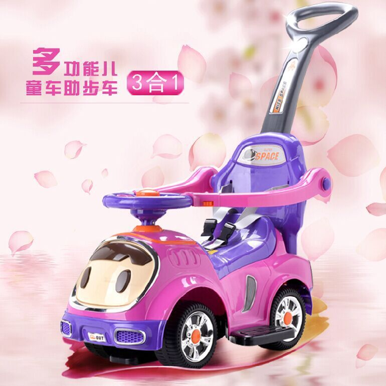 A+B 3 in 1 Multi-function Baby Walker Can ride On Toy Car Childrens Trolley With Music Push Stroller1-5YA+B 3 in 1 Multi-function Baby Walker Can ride On Toy Car Childrens Trolley With Music Push Stroller1-5Y
