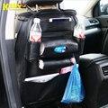 KAWOO Multifuncional saco de assento automóvel caixa de armazenamento pendurado saco de couro saco de armazenamento cadeira carro 62*47 cm