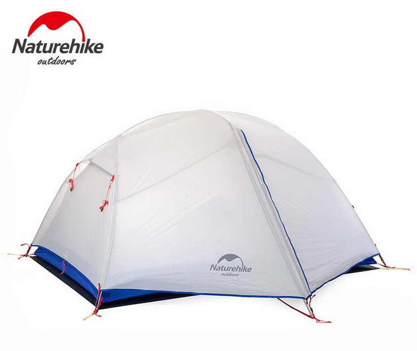 NaturehikeLightweight outdoor double double tents wind and rain camping tents new Paro. Outdoor 2 person couple couple tent,