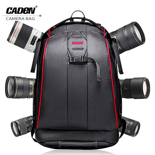Caden профессиональный dslr камеры рюкзаки видео фото цифровая камера сумка водонепроницаемый рюкзак путешествия сумки для dslr sony k6k7