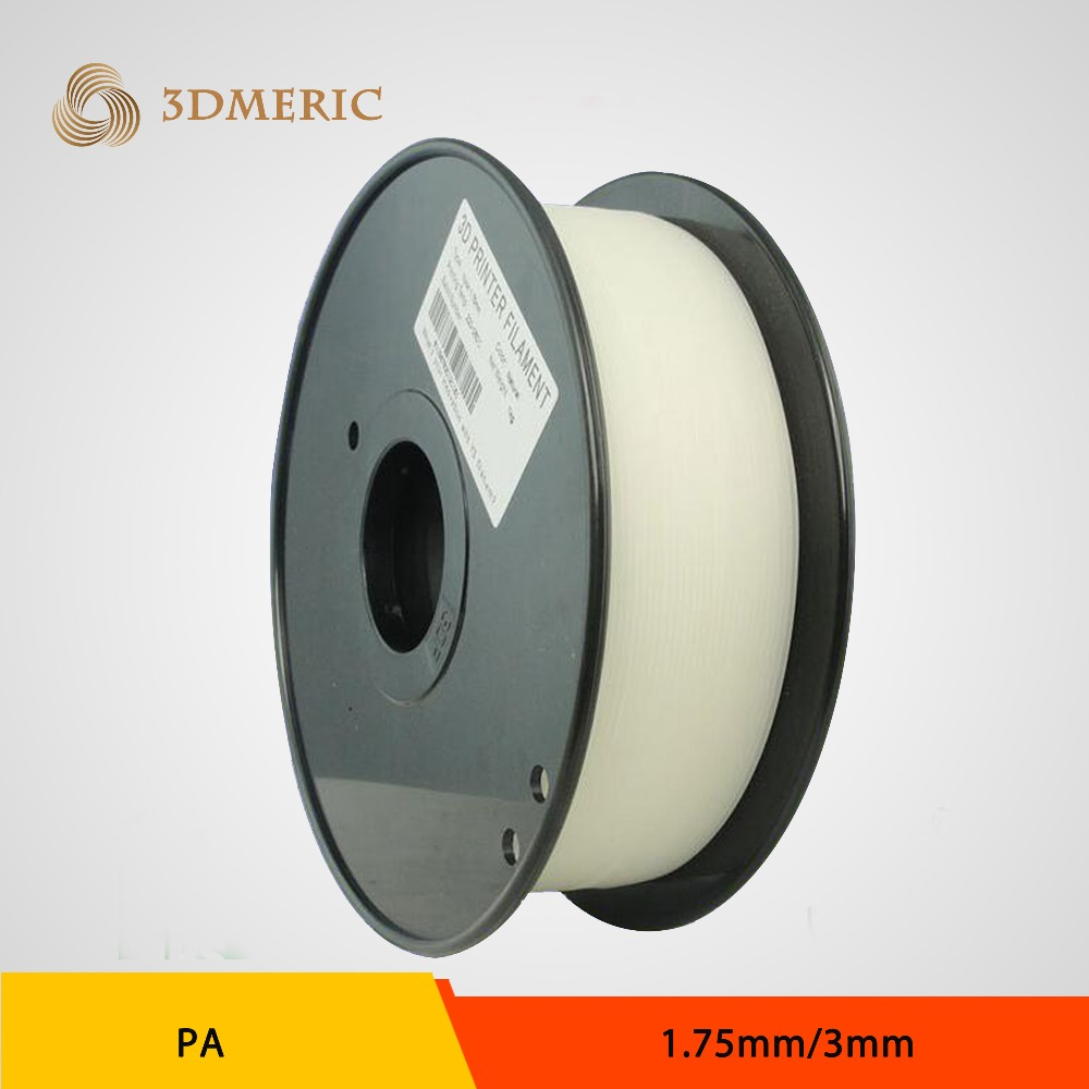 1.75/3mm Nylon PA6 3D filament 1kg/spool for 3D printer