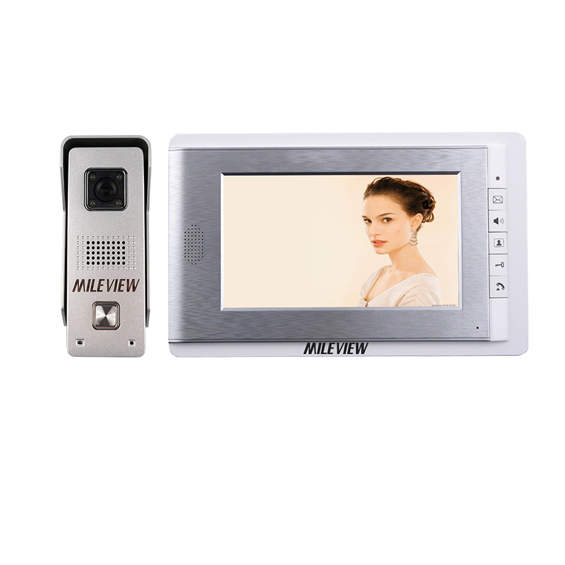 New Home Security Wired 7 inch Color Video Door Phone Intercom Entry System + Waterproof Outdoor Camera IN Stock FREE SHIPPING