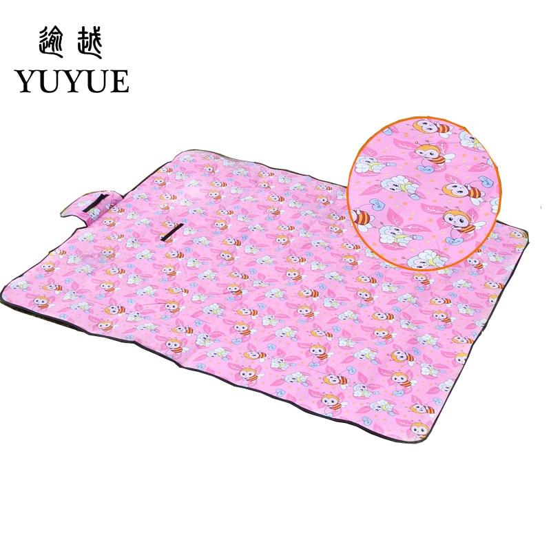 150*200cm picnic mat lovely cartoon design for baby tourist camping tent fishing picnic camping mat tourism mat pad foam fad 1