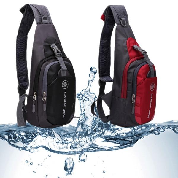 Unisex Waterproof Chest Bag – Sling Bag