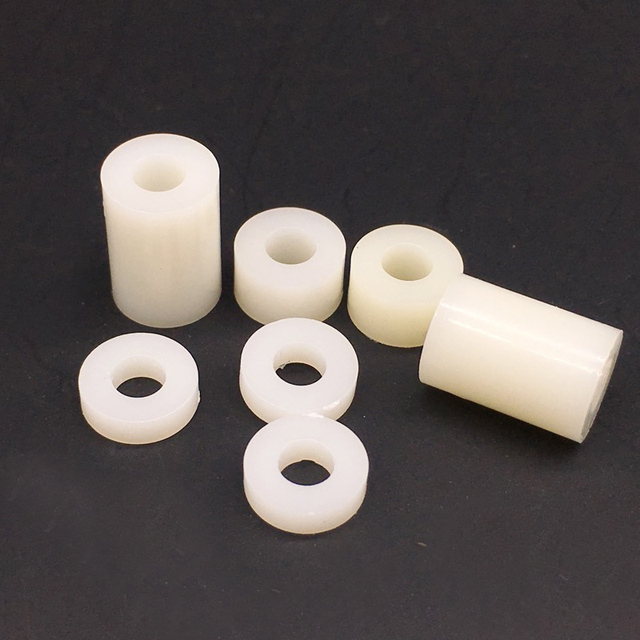 M3 ABS Nylon Round Standoff Spacer PCB Board Spacer Washers No Threads Pack 1000