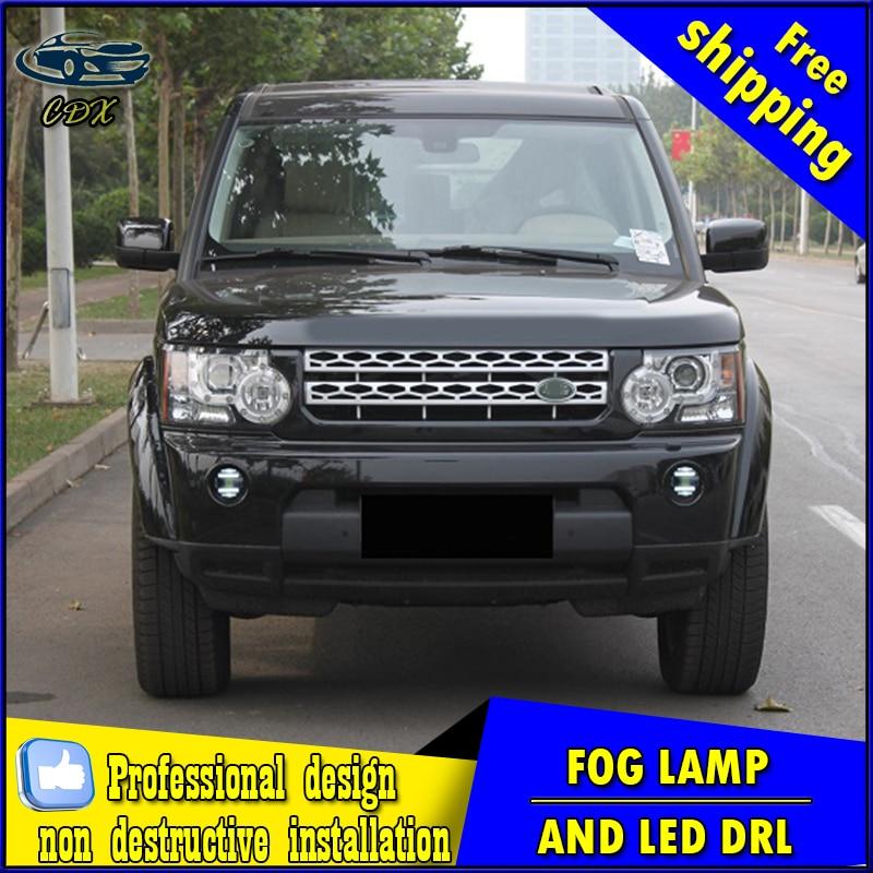 Car-styling LED fog light for Land Rover Range Rover LED Fog lamp with lens and LED daytime running ligh for car accessories