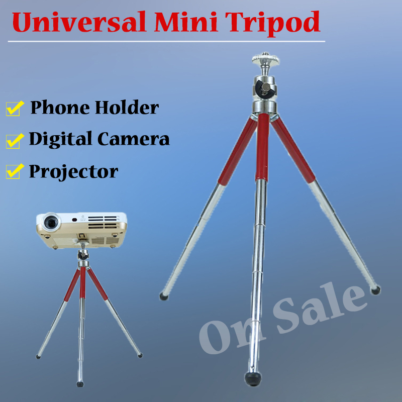 New Mini Camera Tripod Lightweight Flexible Table Portable Tripod length 13 27cm Max Load 1kg with