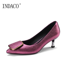New Womens Shoes Heels Red Bottom Pumps Pointed Toe OL Fashion Shoes 5.5cm 34-42 Escarpins Sexy Hauts Talons