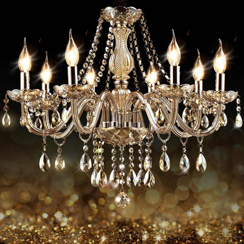 Lustre LED Chandelier Lighting Crystal Chandelier Ceiling Home Lighting Indoor Lamp Lighting In Living Room Suspension Pendient