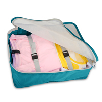 6 Set Travel Organizer Bag Packing Bags 4 Packing Cubes with Pouch Sack Toiletry Laundry Storage Bag Clothing Sorting Packages
