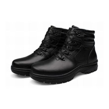 big size 45 46 47 48 49 50 51 52 53 54 men genuine leather martin boots plush snow keep warm high top shoes top quality booties