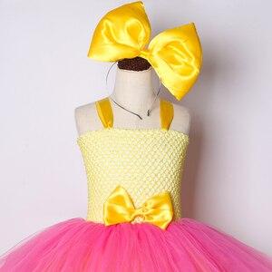 Image 5 - Mädchen Lol Tutu Kleid Nette Prinzessin Cartoon Puppe Mädchen Geburtstag Party Kleid für Kinder Mädchen Weihnachten Halloween Lol Cosplay Kostüm